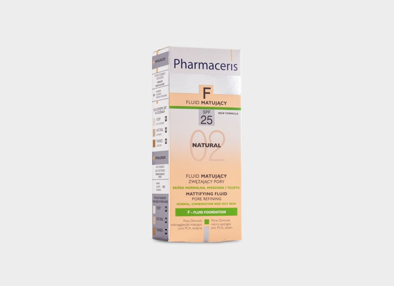 Pharmaceris fluid matujący
