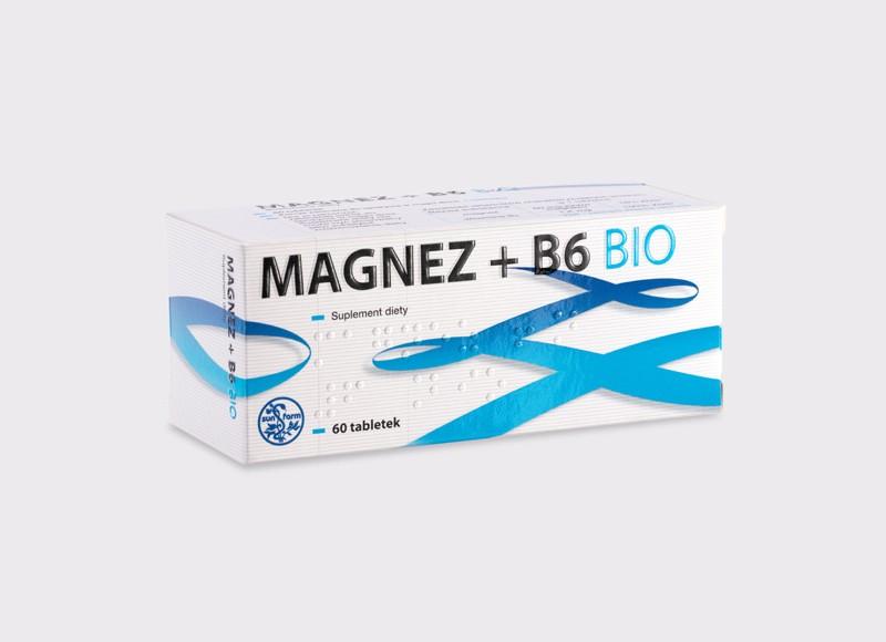 Magnez + B6 Bio